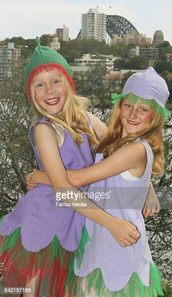 Sydney Harbour Bridge 75th Anniversary Walk. Nine-year-olds Sophie Cole, and Harriet Barker are planning to dress up as Gumnut Babies for the 75th...