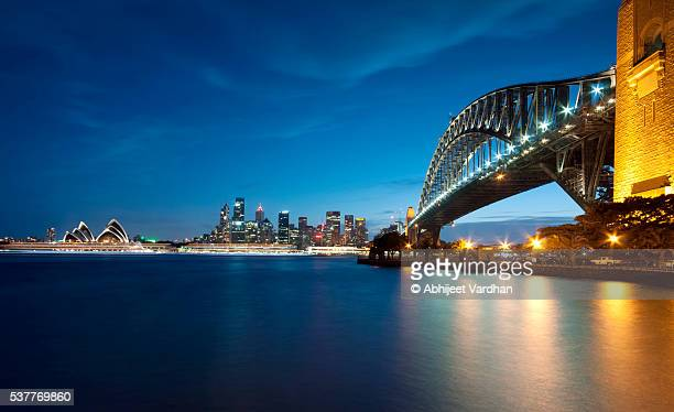 Sydney Harbour Bridge Blue Hour