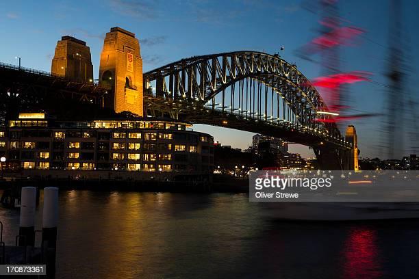sydney harbour bridge - sydney ストックフォトと画像