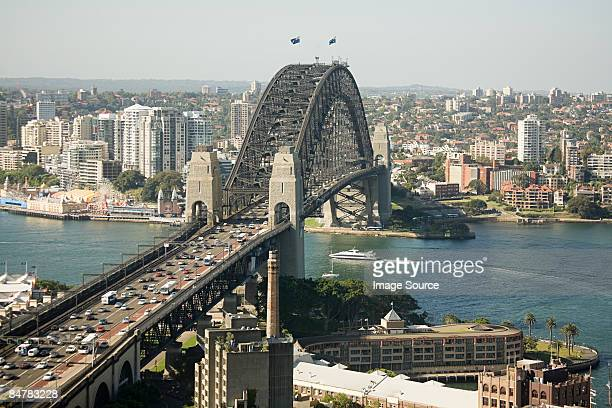 sydney harbour bridge - sydney harbour bridge stock pictures, royalty-free photos & images