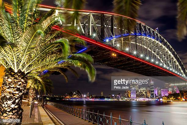 Sydney Harbour Bridge Starbursts