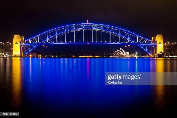 Sydney Harbour Bridge - State of Origin