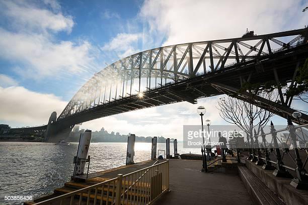 Sydney Harbour Bridge with City Skyline
