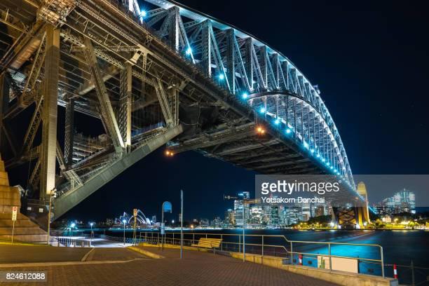 Sydney Harbour Bridge with Sydney City as a background