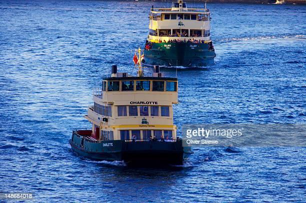 Sydney harbour ferries,