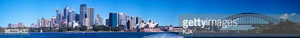 Sydney Harbour Morning Panorama (XXL High Resolution)