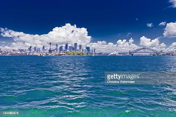sydney harbour - christine wehrmeier stock pictures, royalty-free photos & images