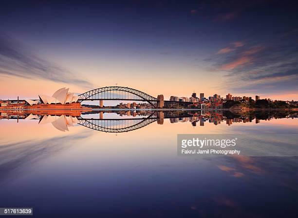 Sydney Harbour Sunrise, Australia