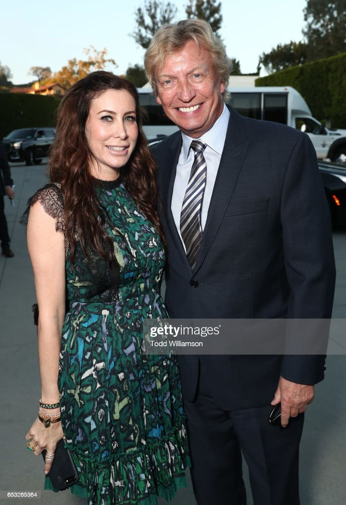 Sydney Holland and Nigel Lythgoe attend the UCLA Institute Of The Environment And Sustainability Celebrates Innovators For A Healthy Planet on March 13, 2017 in Beverly Hills, California.