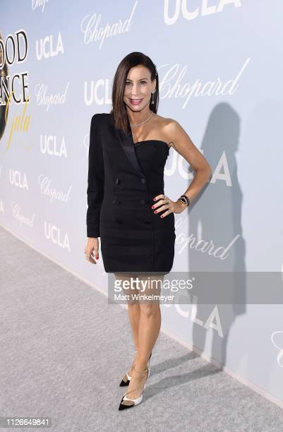 Sydney Holland attends the UCLA IoES honors Barbra Streisand and Gisele Bundchen at the 2019 Hollywood for Science Gala on February 21 2019 in...