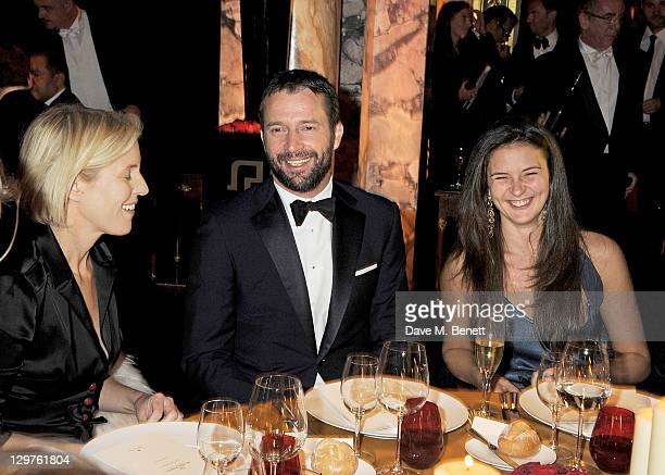 Sydney IngleFinch James Purefoy and Jessica Adams attend 'The Soiree Monegasque' hosted by Roger Dubuis CEO Georges Kern to launch 'Le Monegasque'...