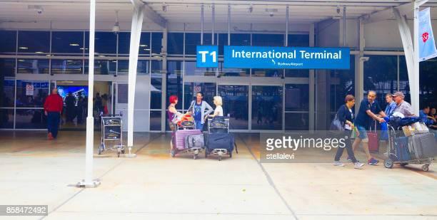 Sydney International Airport Entrance