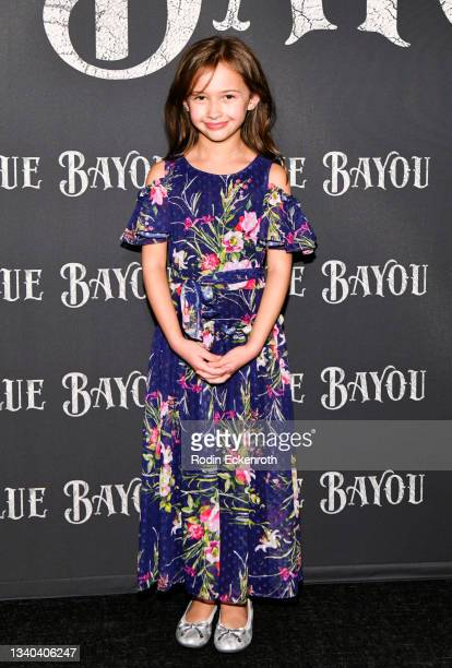 """Sydney Kowalske attends the Los Angeles Premiere of Focus Features' """"Blue Bayou"""" at DGA Theater Complex on September 14, 2021 in Los Angeles,..."""