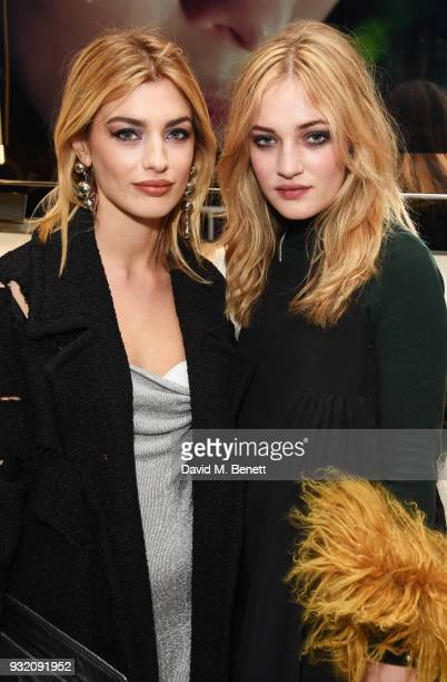 Sydney Lima and Julia CampbellGillies attend a party hosted by Tom Ford Beauty and Dazed to celebrate the launch of Tom Ford Extreme at Tom Ford...
