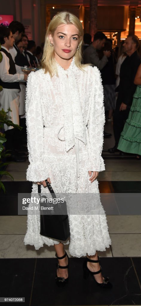 Sydney Lima attends a private view of 'Frida Kahlo: Making Her Self Up' at The V&A on June 13, 2018 in London, England.