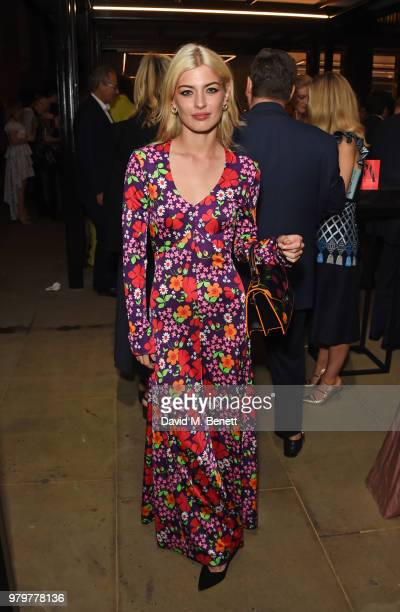Sydney Lima attends the Summer Party at the VA in partnership with Harrods at the Victoria and Albert Museum on June 20 2018 in London England