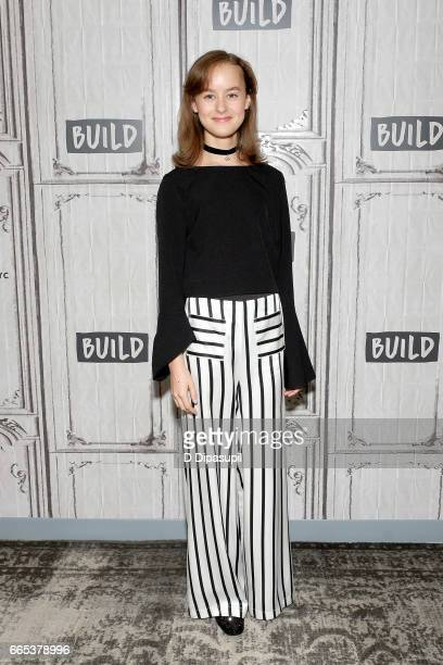 Sydney Lucas attends the Build Series to discuss 'The Son' at Build Studio on April 6 2017 in New York City
