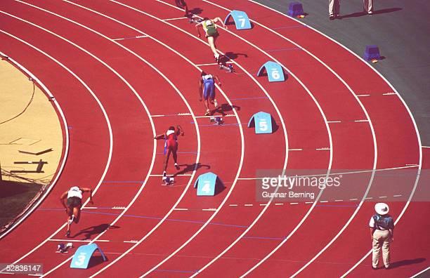 SYDNEY 2000 VORLAEUFE Sydney MAENNER/400m SPEZIAL START
