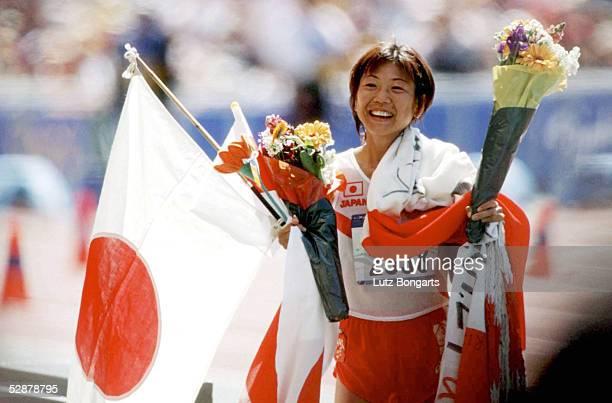 SPIELE 2000 Sydney MARATHON FRAUEN Naoko TAKAHASHI of Japan GOLD
