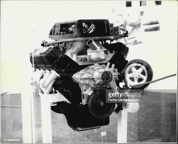 Sydney Motor Show New Holden engine for 1988 A SS Commodore was unveiled by Tom Walkinshaw October 16 1987