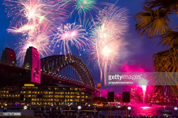 sydney new year's eve - sydney stock pictures, royalty-free photos & images