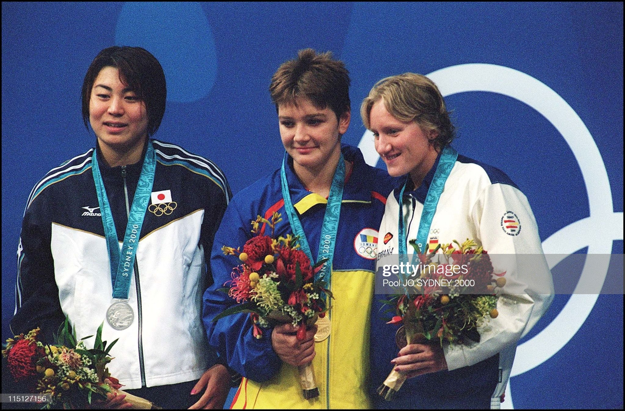 Sydney Olympic Games: Women'S 100M Backstroke Final In Sydney, Australia On September 18, 2000. : Fotografía de noticias