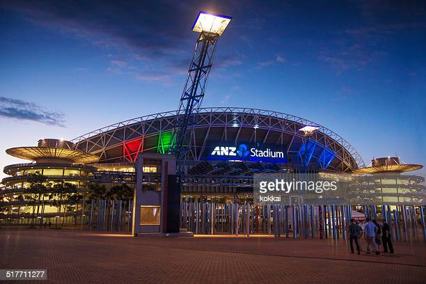 sydney olympic park - anz stadium (nrl grand final) - rugby league stock pictures, royalty-free photos & images