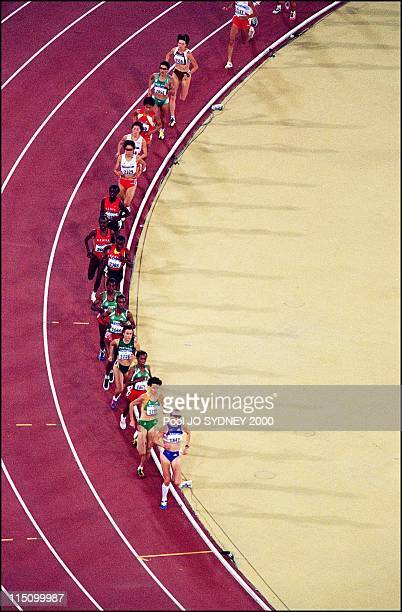 Sydney Olympics Derartu Tulu wins women's 10000 meters final in Sydney Australia on September 30 2000 Derartu Tulu gold medal Gete Wami silver medal...