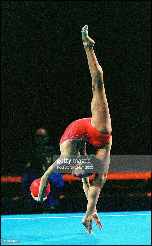 Sydney Olympics: Gymnastics In Sydney, Australia On September 26, 2000. : News Photo