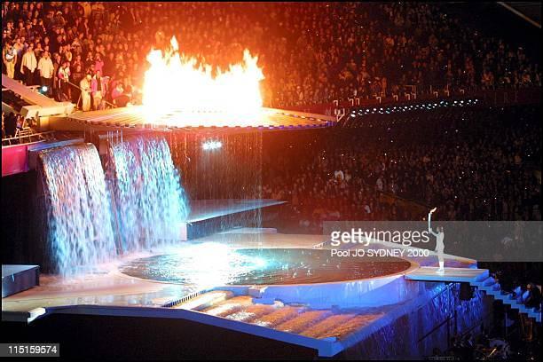 Sydney Olympics: opening ceremony in Sydney, Australia on September 15, 2000.