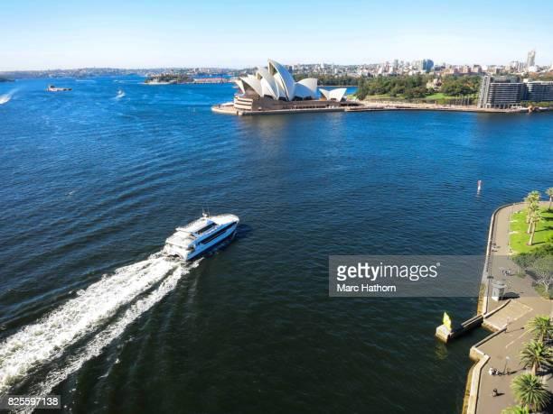 Sydney Opera House and Sydney Harbor