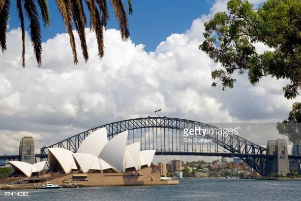 Sydney Opera House and Sydney Harbour Bridge Australia