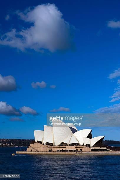 Sydney Opera House and Sydney Harbour Sydney New South Wales NSW Australia