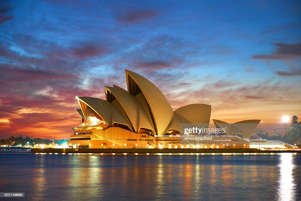 sydney opera house at dawn picture id522149688 - 41+ Sydney Opera House Stock Photo  Images