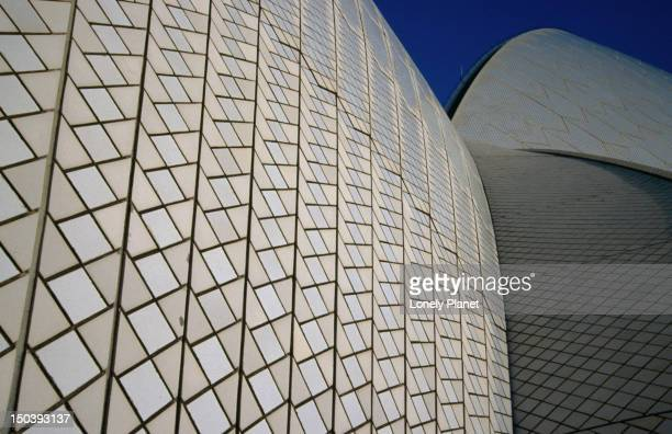 Sydney Opera House detail.
