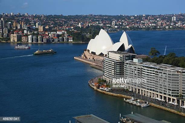 シドニーオペラハウスからのひととき - sydney ストックフォトと画像