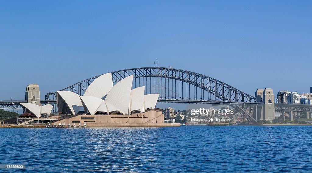 Sydney Opera House Harbour Bridge High-Res Stock Photo ...