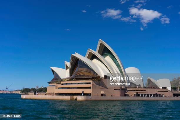 sydney opera house in the sun - opera house stock pictures, royalty-free photos & images