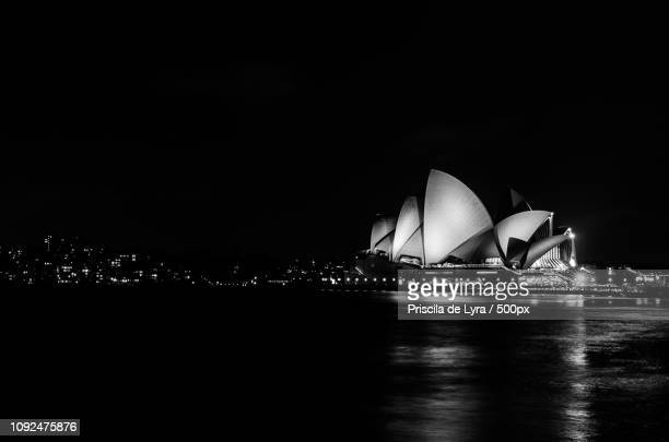 sydney opera house - lyra stock photos and pictures
