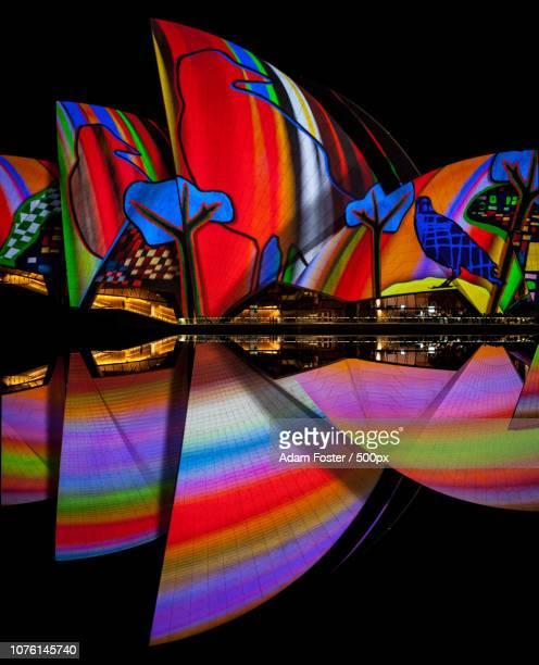 Sydney Opera House projections