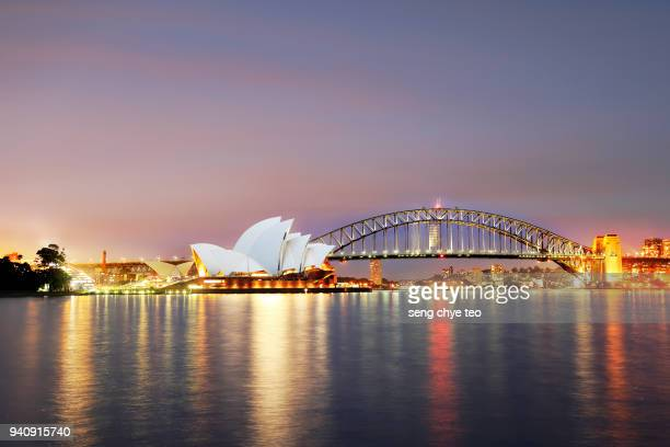 sydney opera house scenery - sydney stock pictures, royalty-free photos & images