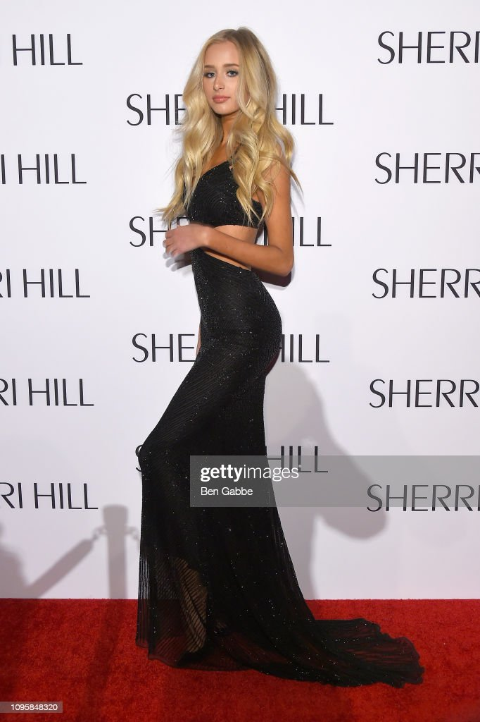 Sherri Hill New York Fashion Week February 2019 - Arrivals : News Photo