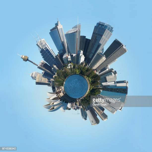 sydney panosphere - images stock pictures, royalty-free photos & images