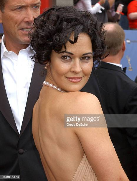 Sydney Penny during 33rd Annual Daytime Emmy Awards Arrivals at Kodak Theatre in Hollywood CA United States