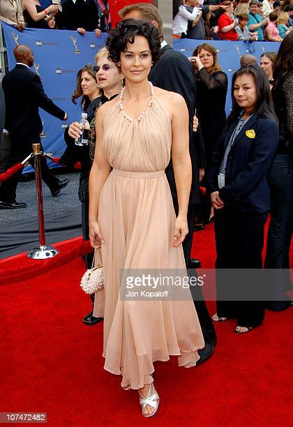 Sydney Penny during 33rd Annual Daytime Emmy Awards Arrivals at Kodak Theater in Hollywood California United States