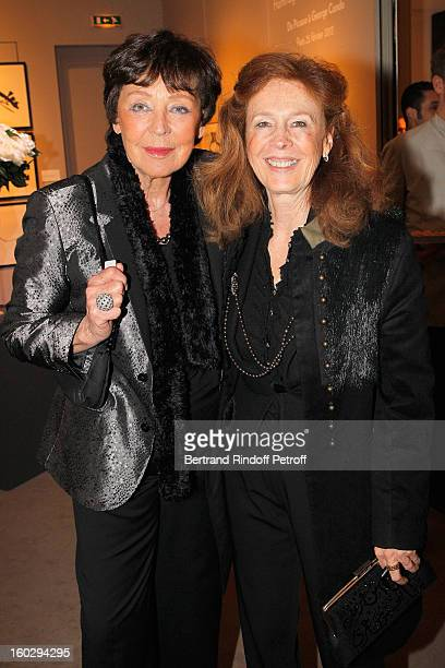 Sydney Picasso and Lise Toubon attend a dinner in honor of Helene DavidWeill who presided through 1994 2012 Les Arts Decoratifs one of the largest...