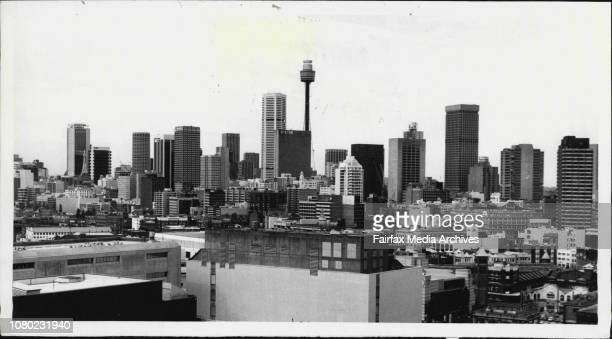 Sydney Polution Index readings have shown a reduction in smog in Sydney over the past ten yearsSydney skyline from the top of the Herald Building...