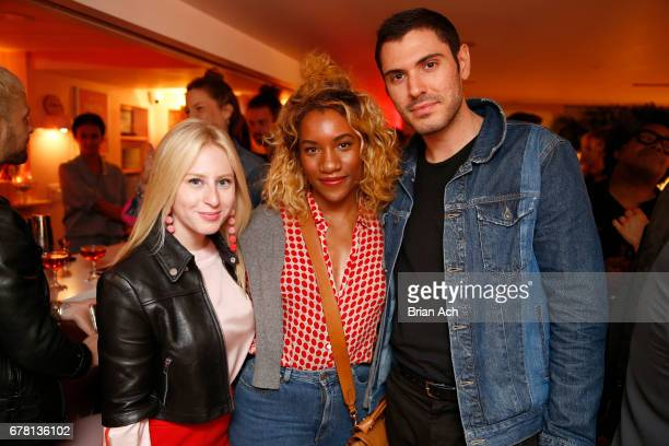 Sydney Sadick Danielle Prescod and Joey Zauzig attend as Maria Hatzistefanis and Brad Goreski host Rodial VIP Dinner on May 3 2017 in New York City