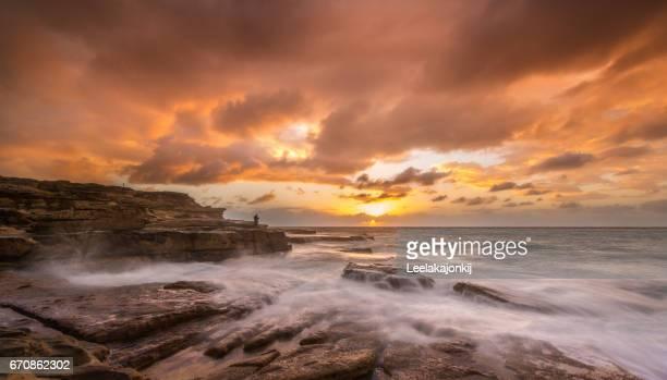 Sydney seascape.