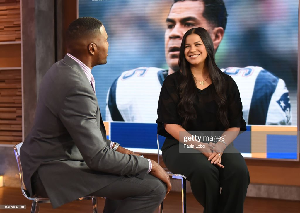 AMERICA - Sydney Seau is a guest on 'Good Morning America,' Friday, September 21, 2018 on the ABC Television Network. MICHAEL